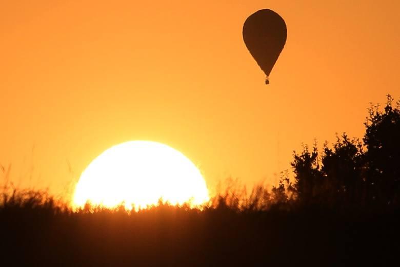 Zawody balonowe w Nałęczowie. Balony poszły w górę [DUŻO ZDJĘĆ]
