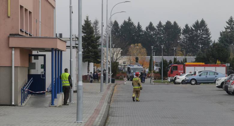 Ewakuacja na Politechnice Rzeszowskiej. Wyciek gazu?