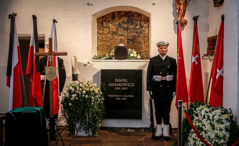 Pogrzeb prezydenta Gdańska Pawła Adamowicza w Bazylice Mariackiej [19.01.2019]