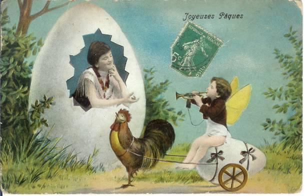 Stare pocztówki wielkanocne ze świata. Robią wrażenie