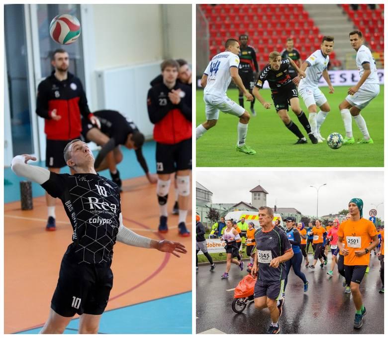 Ligowe mecze piłki nożnej i piłki ręcznej oraz biegi, a także towarzyski turniej siatkarski- to propozycje sportowych wydarzeń w województwie podlaskim.
