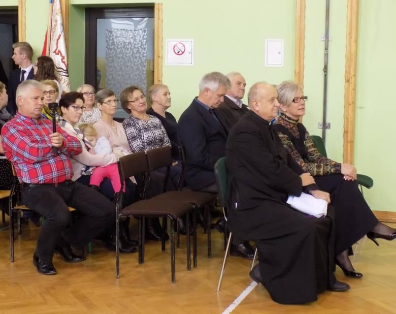 Dzien Patrona w SP w Wykrocie, 30.10.2019