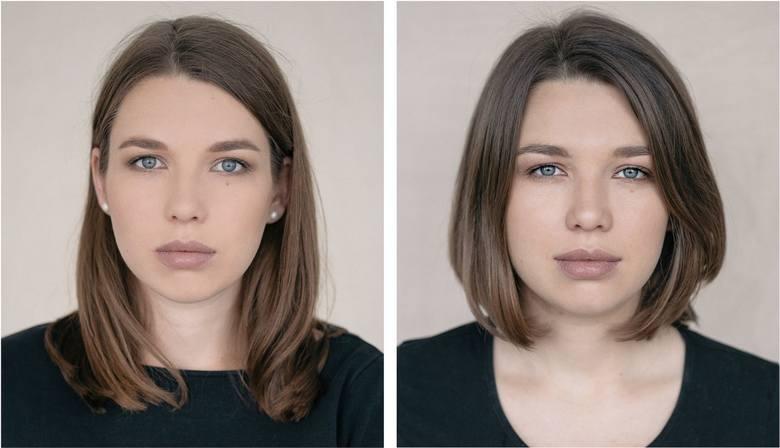 z lewej: przed urodzeniem dzieckaz prawej: po zostaniu mamą