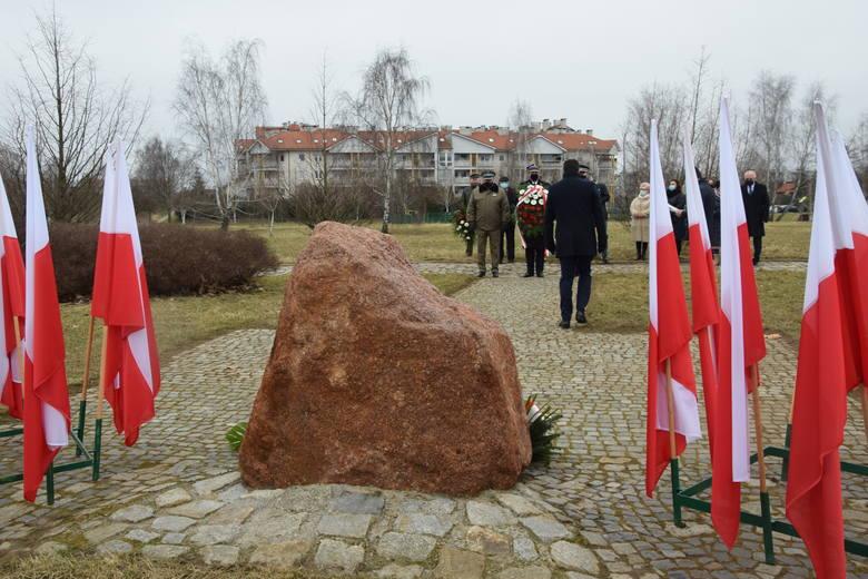 W Gorzowie obchody Narodowego Dnia Pamięci Żołnierzy Wyklętych odbyły się m.in. w Parku 750-lecia.