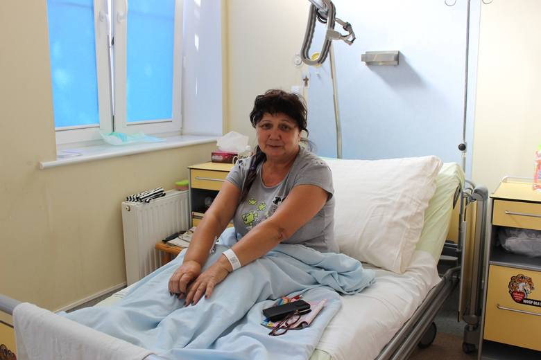 Anna Regent z Przytocznej jest zadowolona z opieki na geriatrii. - Wypoczęłam, zajęli się mną lekarze. Od razu poczułam się o wiele lepiej. Aż się nie