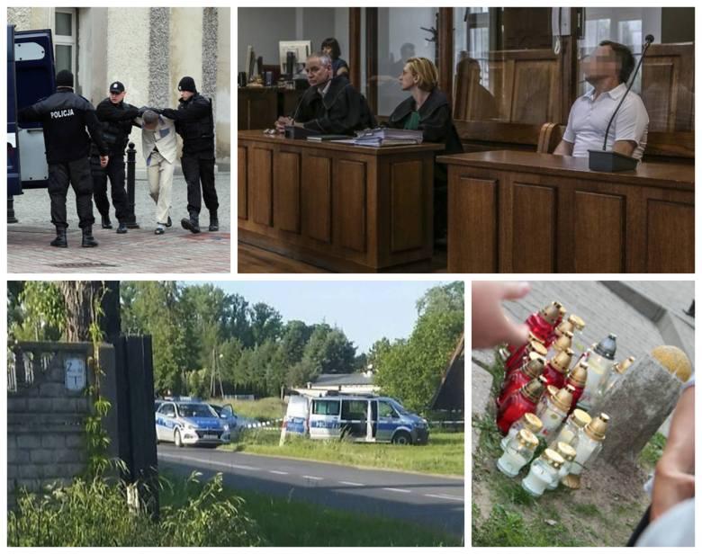 Około 60-letni mężczyzna zginął od ciosów nożem. Podejrzanym jest syn mężczyzny. Z kolei  9-letnia Patrycja i 13-letni Nicola zostały uduszone. Podejrzanym