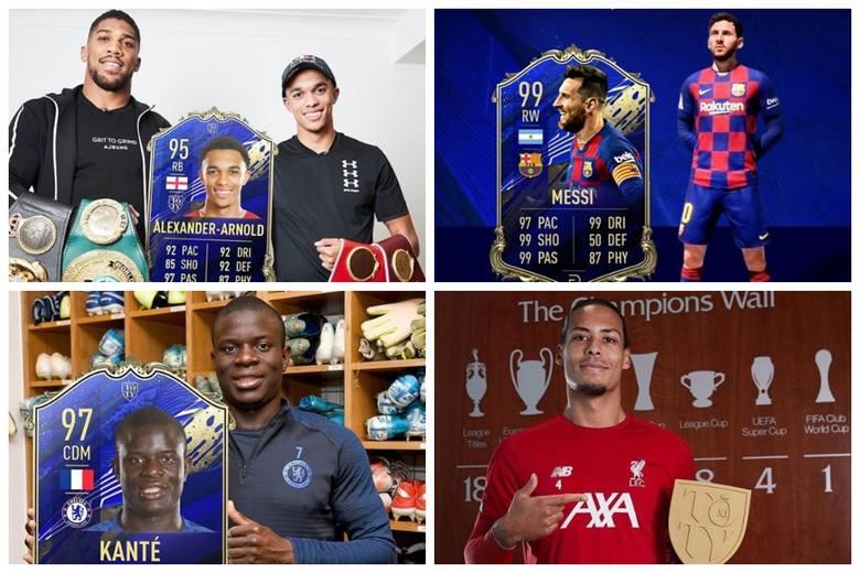 """Jak co roku, EA Sports, producent wirtualnej serii piłki nożnej z serii FIFA, na początku stycznia przedstawił """"Drużynę Roku"""". W TOTY"""