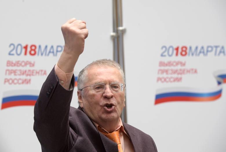 Władimir ŻyrinowskiWiek: 71 latPrzynależność polityczna: Liberalno-Demokratyczna Partia RosjiWyniki w poprzednich wyborach: 8 proc. (1991), 5,8 proc.