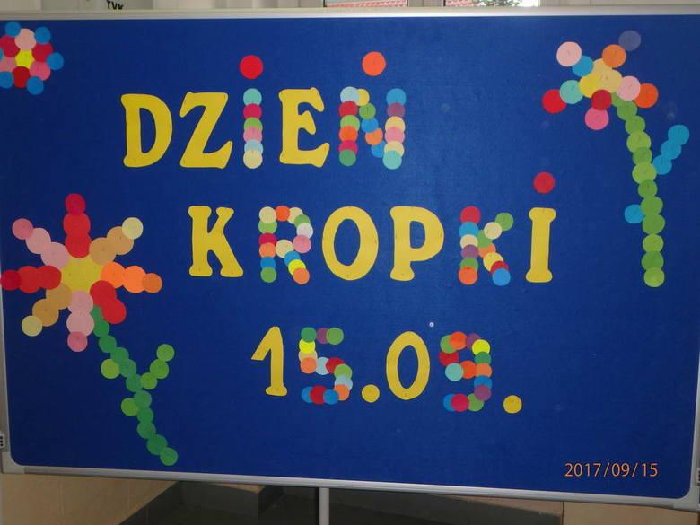 The Dot Day w SP nr 7 w Szczecinie. Co to za wydarzenie?