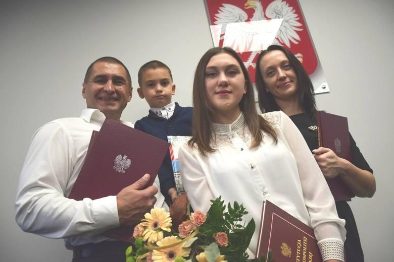 Pan Andriej mieszka z rodziną w Strzelcach Krajeńskich