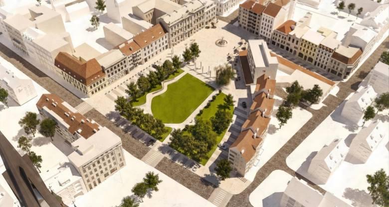 Włoski sznyt zawita na plac Orła Białego w Szczecinie. Miasto daje sobie trzy lata na realizację [WIZUALIZACJE, WIDEO]