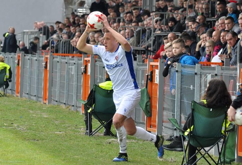 Patryk Fryc w przeszłości grał w ekstraklasie i 1 lidze