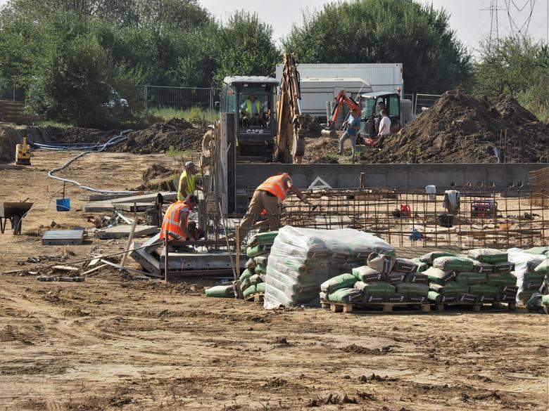 Plac budowy nowego McDonalnd's w Koszalinie