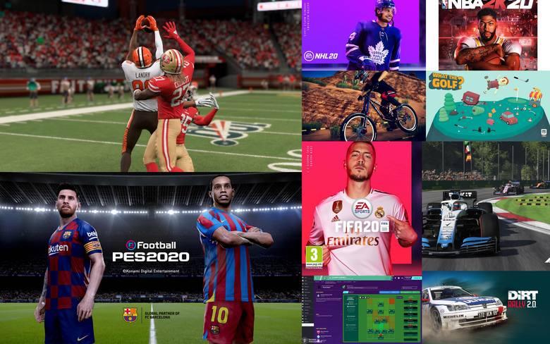 Najlepsze gry sportoweWybieramy najlepszą grę sportową. Zobaczcie, które produkcje zostały ocenione najwyżej przez naszą redakcję.Zobacz kolejne zdjęcia.