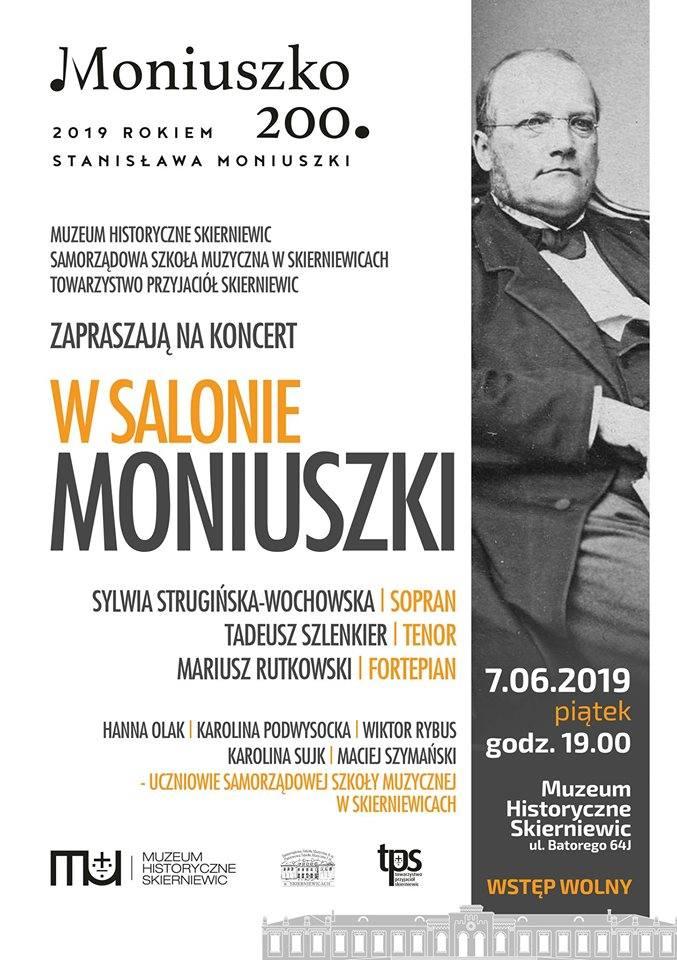 Wiosna w mieście: w salonie Moniuszki i 50-lecie SP nr 7