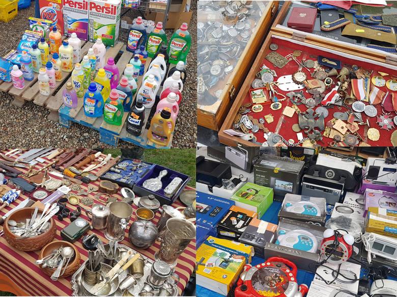 Zdjęcia z giełdy w Koszalinie. Zobaczcie co można kupić na straganach podczas niedzielnej giełdy w Koszalinie. Znajdziecie coś dla siebie? Zobacz także: