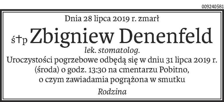 Nekrologi i Kondolencje z dnia 30 lipca 2019 roku