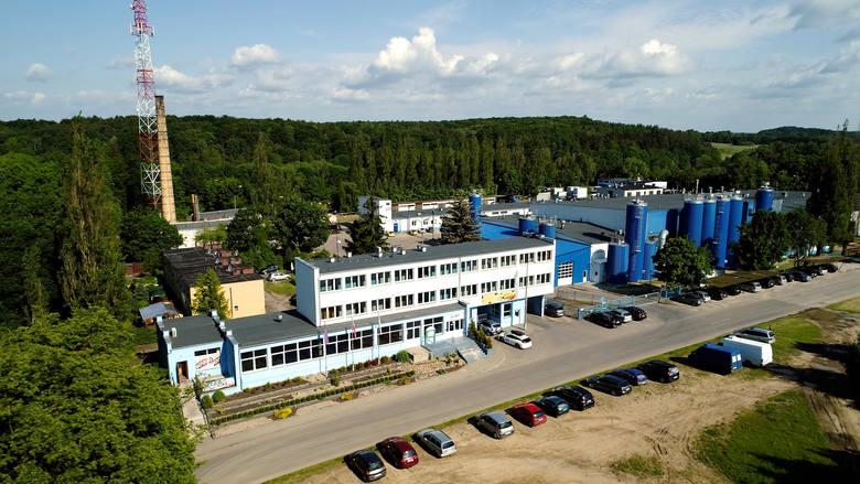 Oddział Spółdzielczej Mleczarni Spomlek w Chojnicach. To przy niej ma zostać wybudowana nowa oczyszczalnia ścieków i gospodarki osadowej