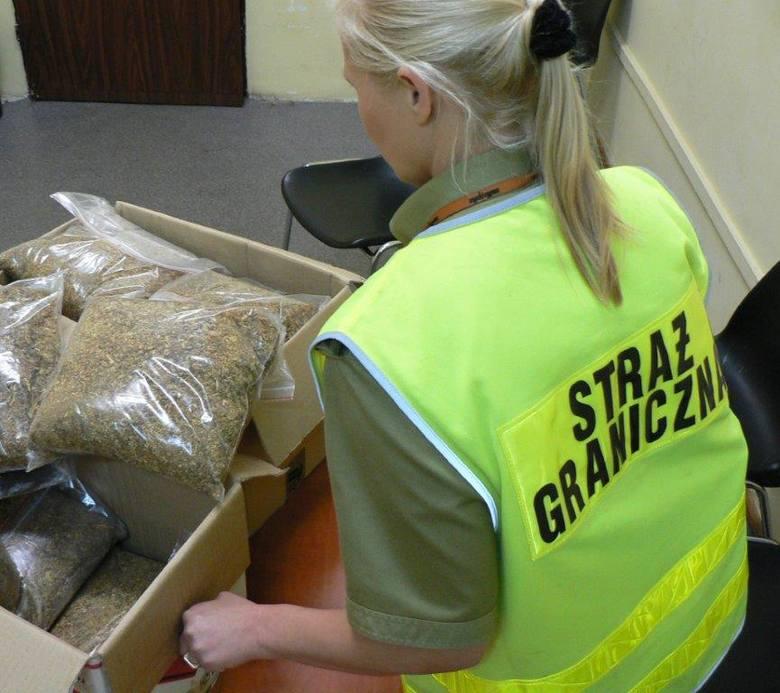 Pod Szczeciniem przechwycono 78 kg nielegalnej krajanki tytoniowej