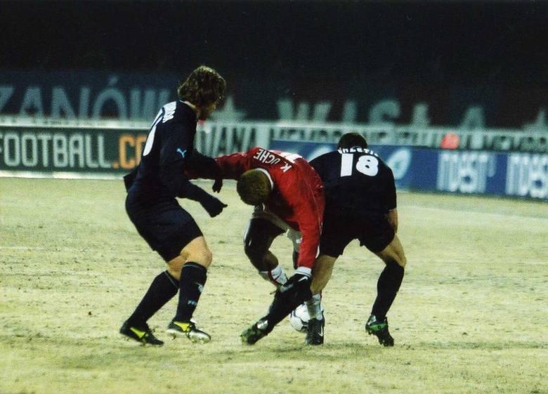 Wisła Kraków - Lazio Rzym. Pamiętne wydarzenie na stadionie przy Reymonta z 2003 roku [ZDJĘCIA ARCHIWALNE]
