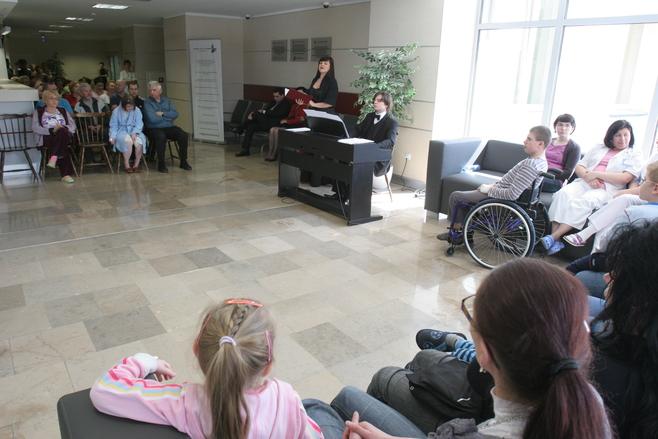 Koncert operowy w szpitalu w Katowicach [ZDJĘCIA]