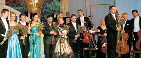 Podczas sobotniego koncertu inauguracynego na scenie Pijalni Głównej wystąpiła plejada znakomitych śpiewaków