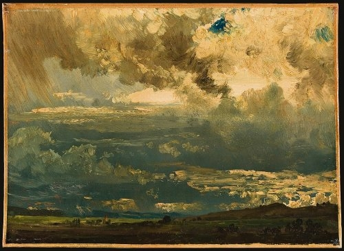 """Studium chmur"" Friedricha Reinholda"