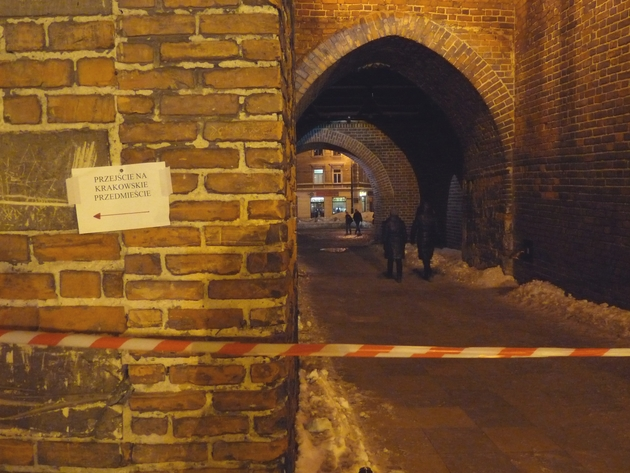 Brama Krakowska dziś około godz. 18