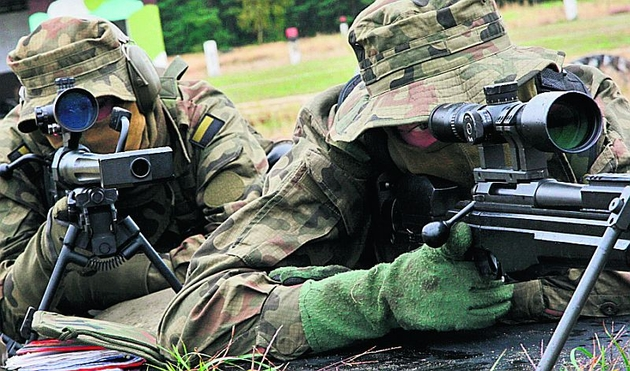 Żołnierze najwięcej czasu spędzają na strzelnicy