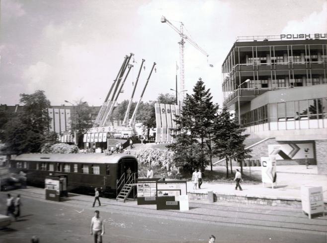 Pawilon 14A w 1980 roku.