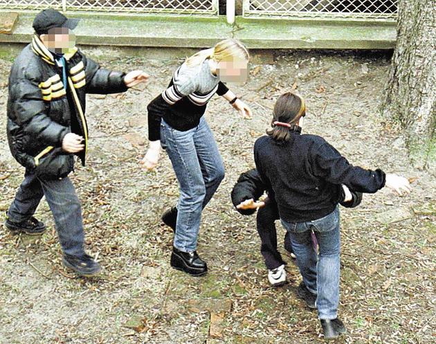 Agresję młodzieży musi czasem przerwać policja