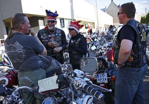 Poznań: Wielka parada motocykli Harley-Davidson [ZDJĘCIA]