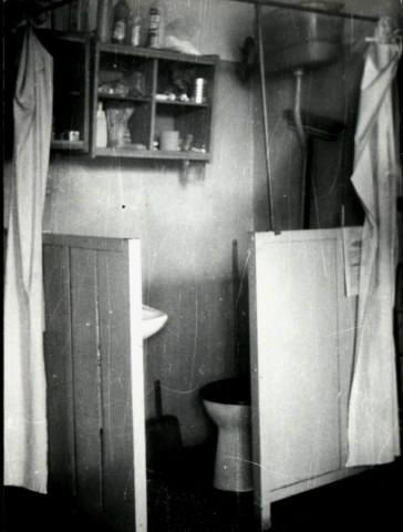 Czasy stanu wojennego - toaleta internowanych