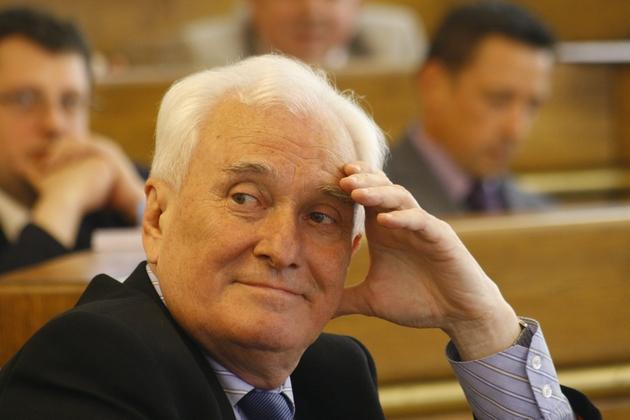 Jan Gąbka, prezes LSM