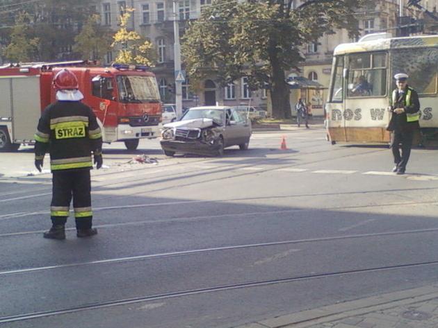 Wrocław: Zderzenie na Sienkiewicza