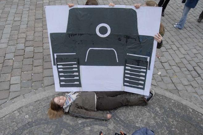 Poznań: Upamiętnili rocznicę masakry na placu Tiananmen w Pekinie [ZDJĘCIA]