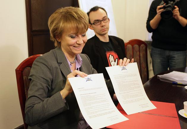 Łódź: Karta Brukselska podpisana (ZDJĘCIA)
