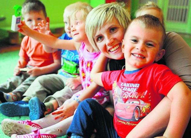 Magda Ślusarczyk znalazła dla swojego syna Kuby miejsce w żłobku. Dzięki temu może pracować