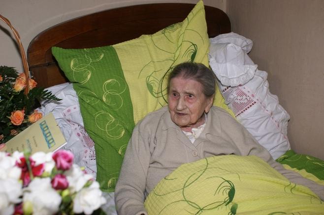 Mieszkanka Lusówka, Joanna  Drozdowska skończyła 107 lat