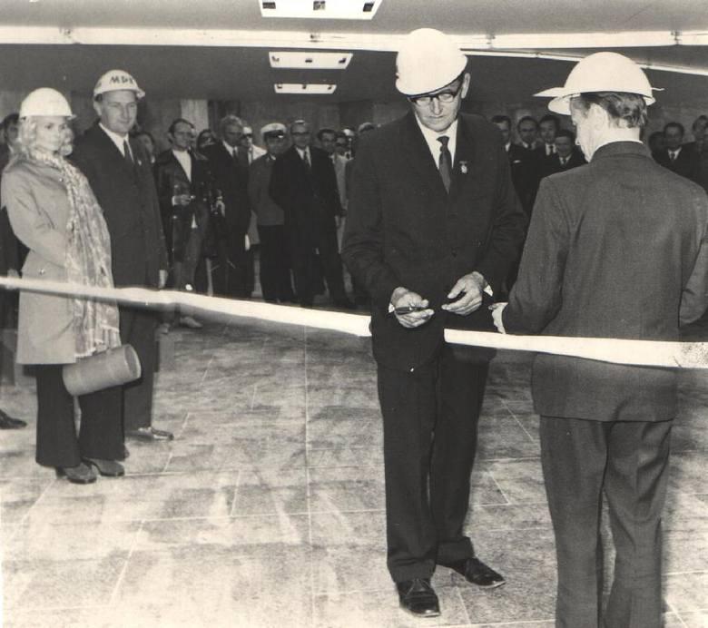 Uroczyste otwarcie Ronda Mikołaja Kopernika - 19 maja 1973 roku