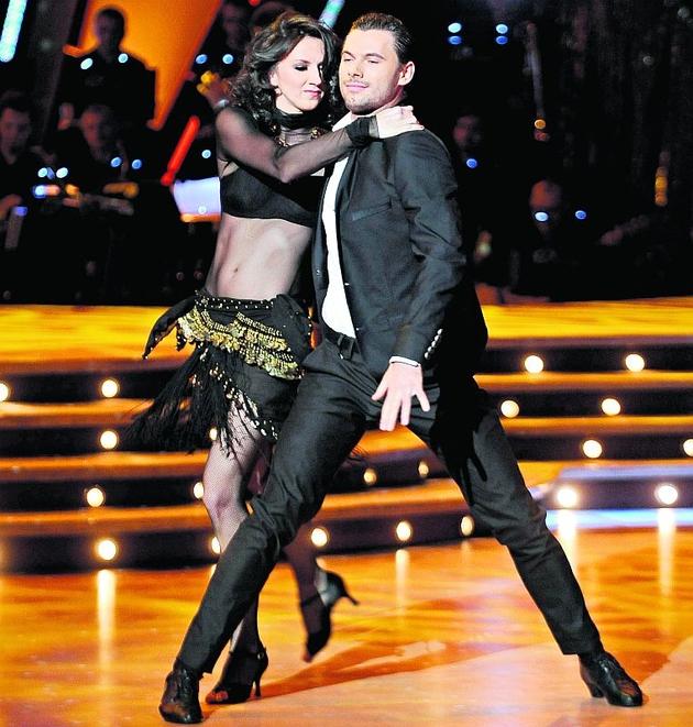 Monika Pyrek w ostatnim tańcu