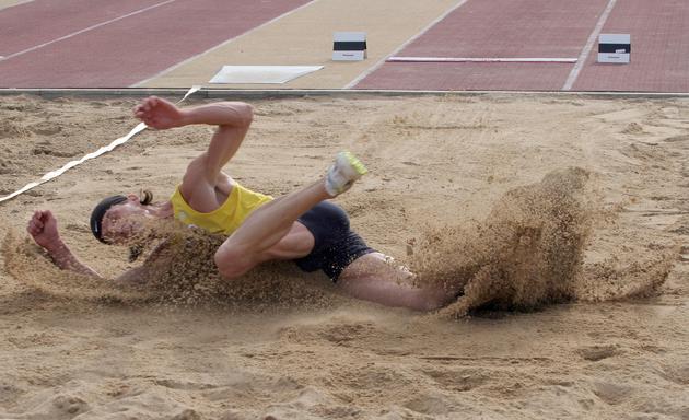 Karol Hoffmann mistrzem Polski w trójskoku