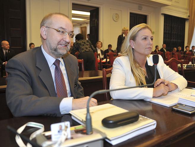 Bogusław Hubert i Anna Adamska, radni Ruchu Palikota.