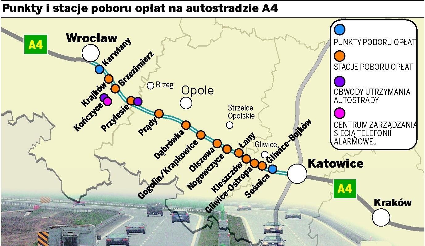 35bca87ca993a autostrada a4 punkty poboru opłat mapa - Gazetawroclawska.pl
