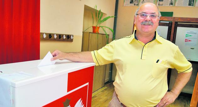 W Nowym Targu do wyborów stawali także mieszkańcy spoza Podhala. Głosował m.in. pan Bogdan, biznesmen z Gdańska
