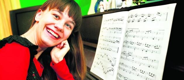 Renata Galik szlifowała naukę gry na fortepianie w szkole muzycznej