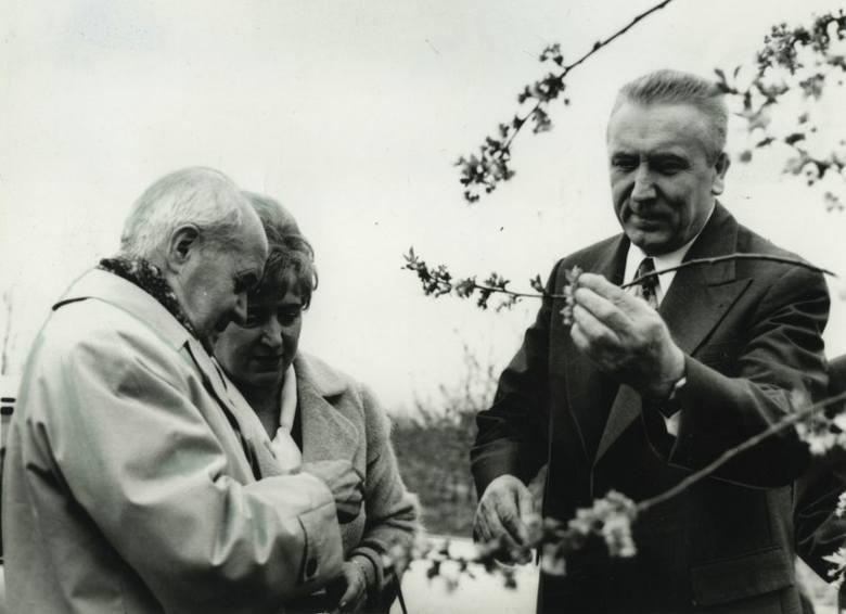 Edward Gierek podczas gospodarskich wizyt w czasie swoich rządów.