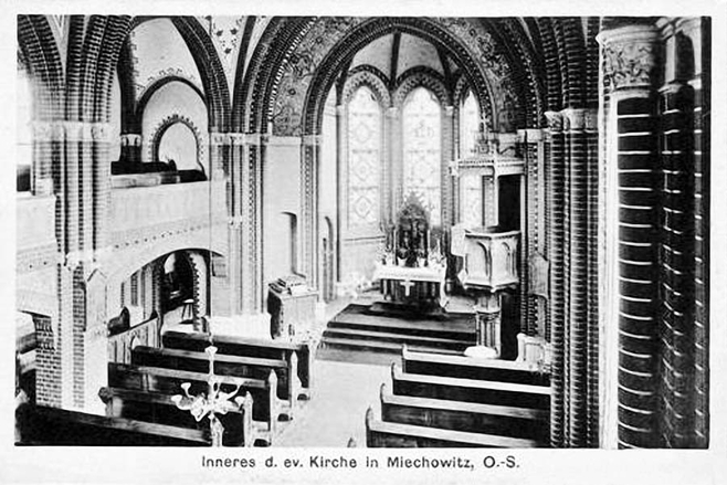 Kościół luterański w Bytomiu-Miechowicach zamknięty [STARE ZDJĘCIA]
