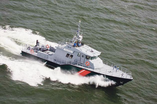 Statek dla polskich strażników granicznych - sprawdzony już na Łotwie i w Estonii