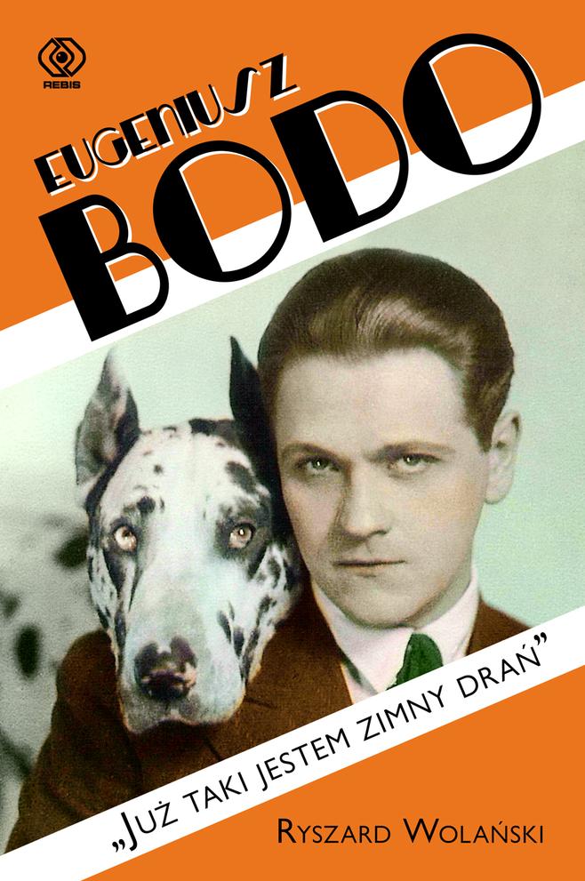 Okładka książki o Eugeniuszu Bodo